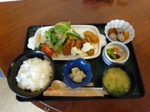 カキフライ定食2(日替わり)